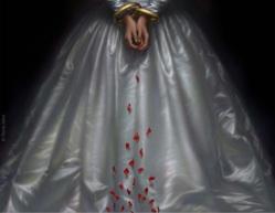 7_rene_milot_illustration_art_painting_woman_lucia_ammermoor_opera_poster